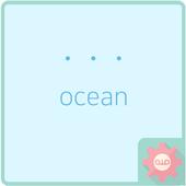 simple dot - ocean 카카오톡 테마 icon