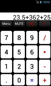 Talk Calculator English apk screenshot