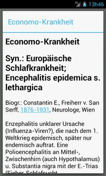 Medizinische Wörterbuch screenshot 4