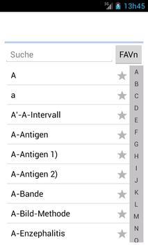 Medizinische Wörterbuch screenshot 6