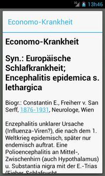 Medizinische Wörterbuch screenshot 1