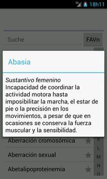 Diccionario Médico apk screenshot