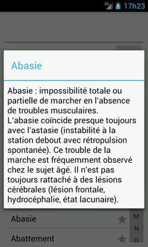 Dictionnaire Médical screenshot 1