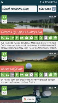 Golf i Sverige screenshot 2