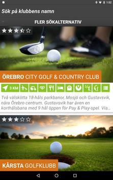 Golf i Sverige screenshot 9