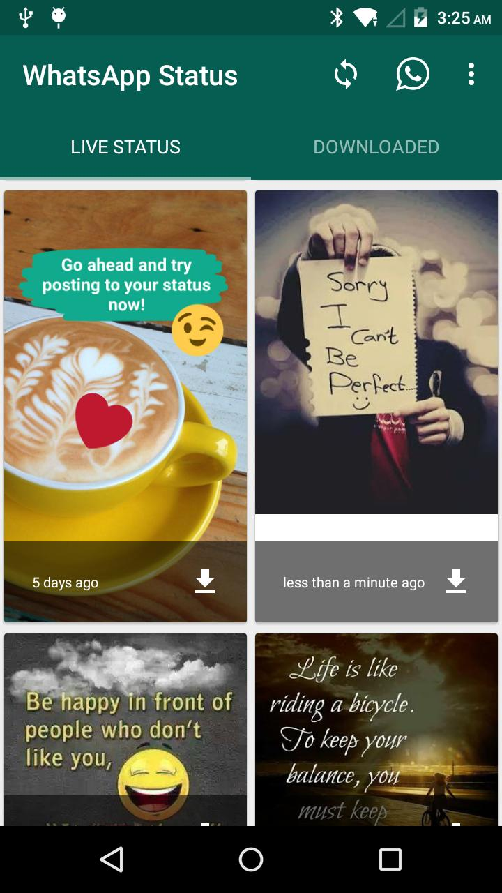 Whatsapp Status Download For Android Apk Download