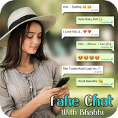 Fake Chat with Girls: Fake Conversations icon