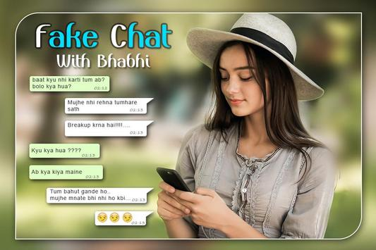 Fake Chat with Girls: Fake Conversations poster