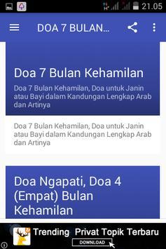 DOA 4 BULAN KEHAMILAN screenshot 1