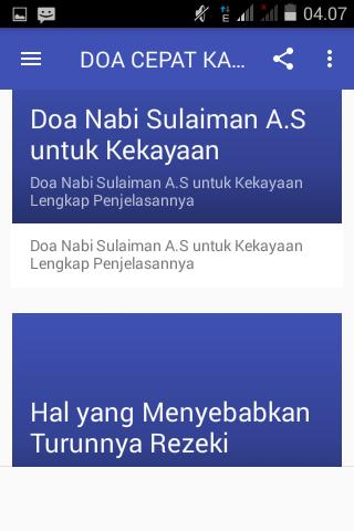 DOA CEPAT KAYA NABI SULAIMAN for Android - APK Download