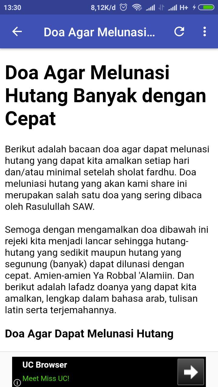 DOA CEPAT KAYA For Android APK Download