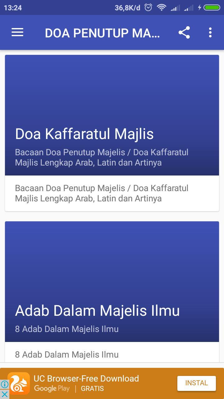 Doa Penutup Majelis For Android Apk Download