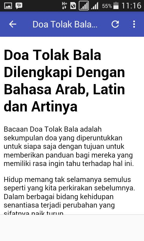 Doa Tolak Bala For Android Apk Download