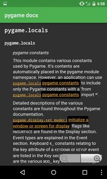 Docs for pygame for Android - APK Download