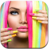 Hair Lips Color Changer Camera icon