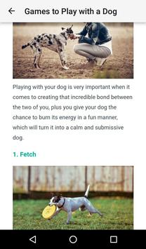 Dog Training : 101(Offline access) screenshot 3