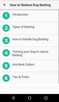 Dog Training : 101(Offline access) screenshot 4