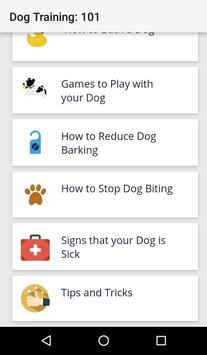 Dog Training : 101(Offline access) screenshot 5