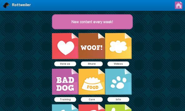 Rottweiler Dogs apk screenshot