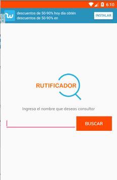 Rutificador poster