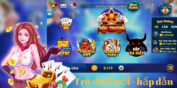 Danh bai doi thuong 2018 - Game bai doi the online poster
