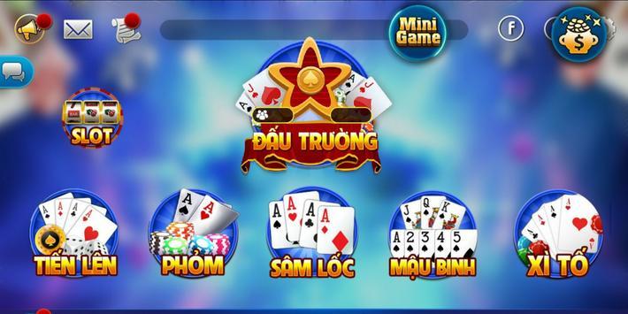 Danh bai doi thuong 2018 - Game bai doi the online screenshot 1