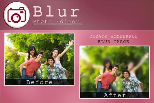 DSLR Camera Blur Photo Effect screenshot 4