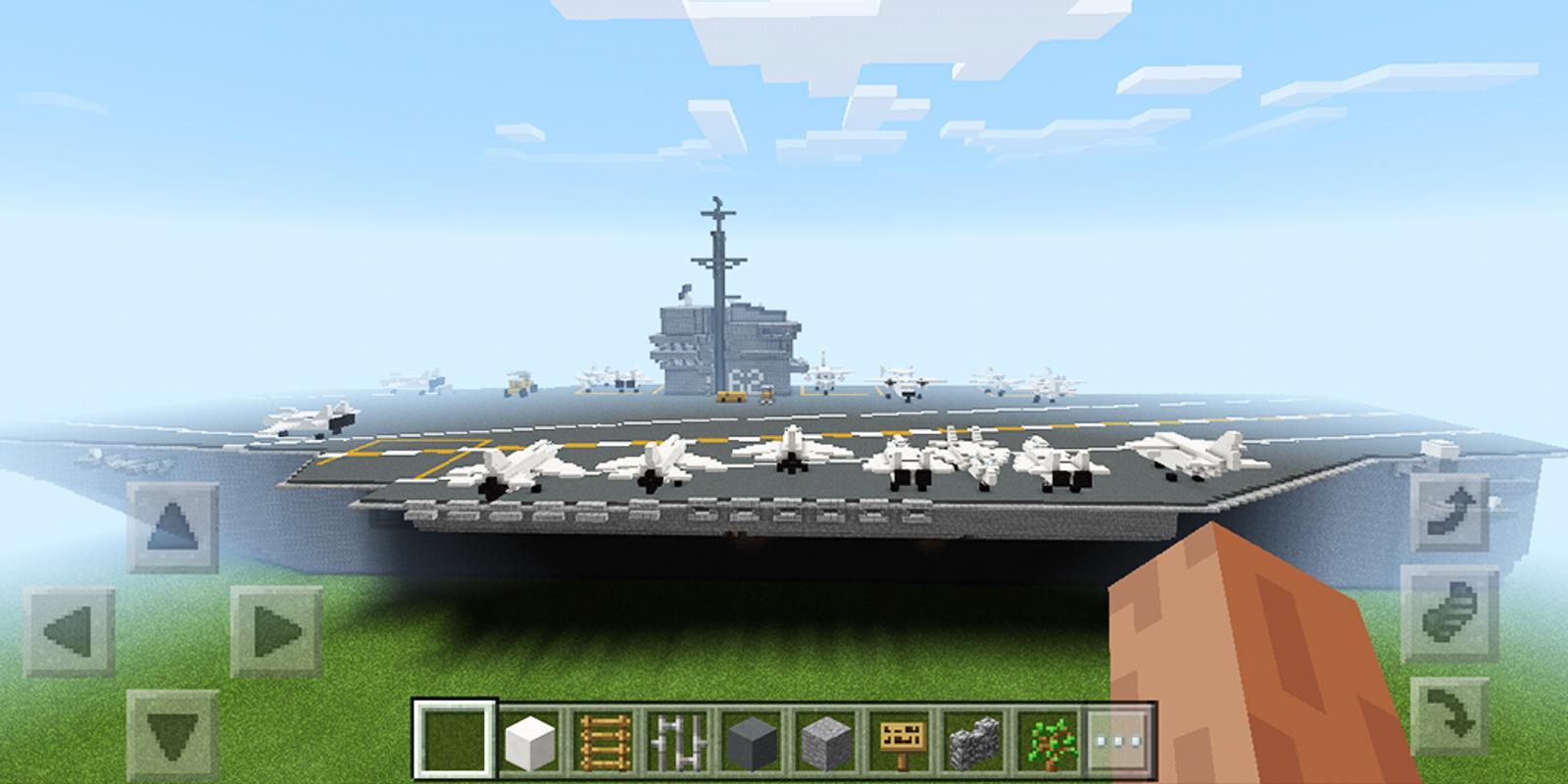 Aircraft Carrier Minecraft Map APKDownload Kostenlos Unterhaltung - Kostenlose maps fur minecraft