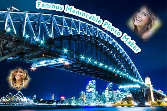 Famous Memorable Photo Maker poster