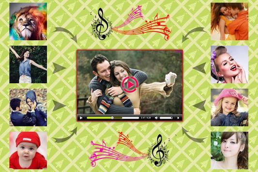 Photo To Video Slideshow Maker poster