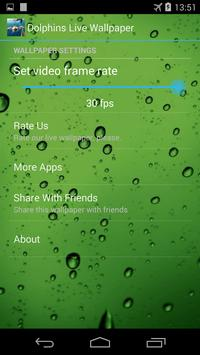 Dolphins Live Wallpaper apk screenshot