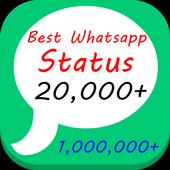 Latest Whatsapp Status 10000+ icon