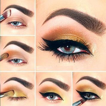 Eye Makeup Video Tutorial Step apk screenshot