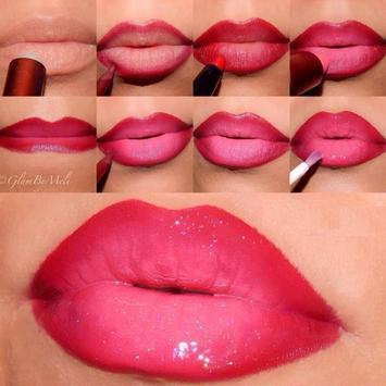 Lips Makeup Video Tutorial apk screenshot