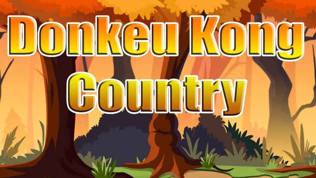 Free - Monkey Kong Country poster