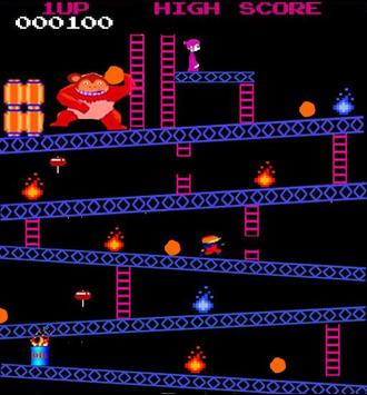 Monkey Kong Classic arcade apk screenshot
