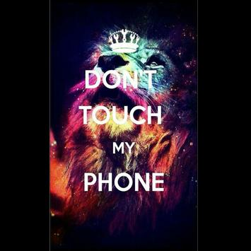 Dont Touch My Phone Wallpapers HD Poster