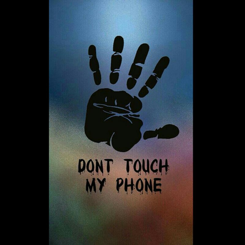 Dont Touch My Phone Wallpaper Zedge: Don't Touch My Phone Wallpapers HD For Android