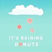 Raining Donuts Wallpaper Free! icon