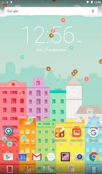 Raining Donuts Wallpaper Free! apk screenshot