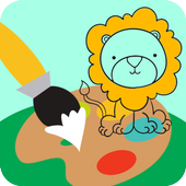 Animal Coloring Books for Kids icon