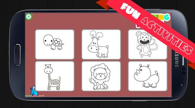 Animal Coloring Books for Kids screenshot 2