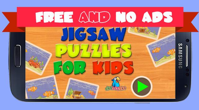 Jigsaw Puzzle For Kids Sea poster