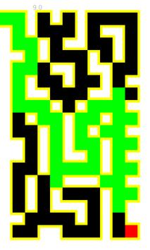 Random Generated Maze Game apk screenshot