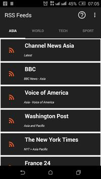 NewsBoard RSS Feeds poster