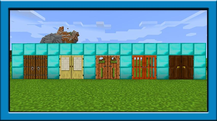 Door mod for minecraft pe for Android - APK Download