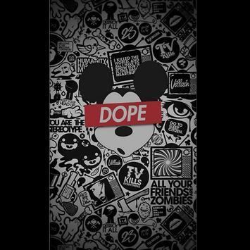 Dope Wallpaper poster