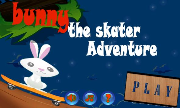 BUNNY : the skater adventure poster