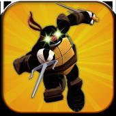 Shadow Ninja Turtle Sewer JUMP icon