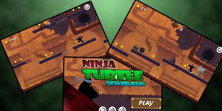 Shadow Ninja Turtle Sewer JUMP screenshot 3